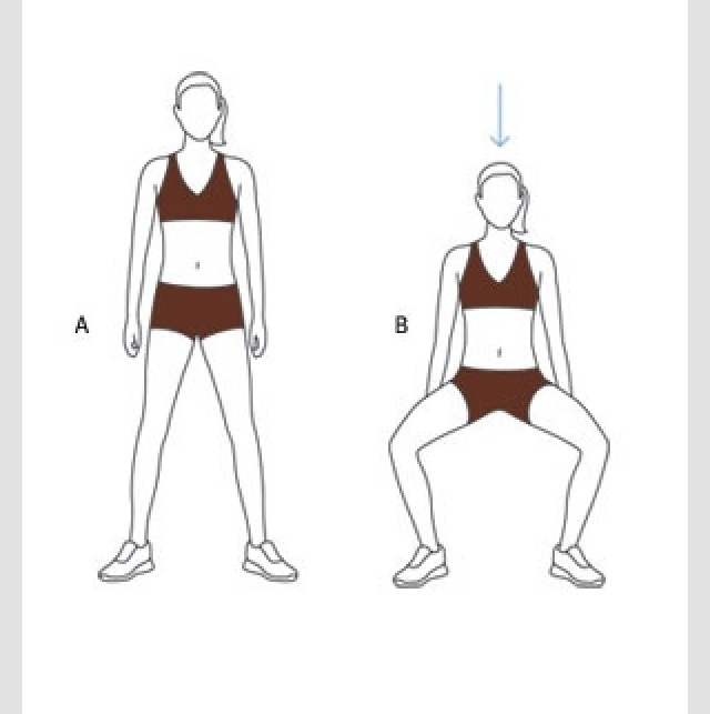 Doing this exercise will help gain muscle in the inner thighs to burn fat. Do atleast 20 reps a day