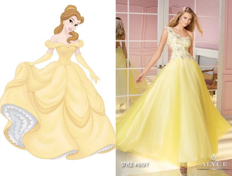 Princess Inspired Prom Dresses