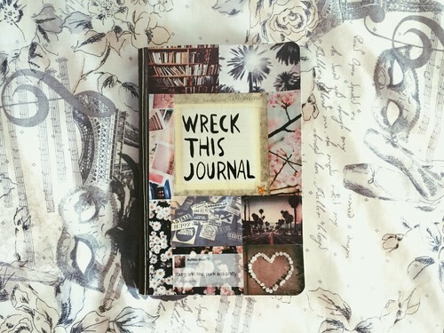 I have a wreck this journal and it is so much fun I love it so much.