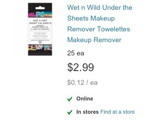 Just your average makeup remover wipes, but for a good price.