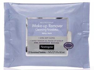 6. Make-up remover wipes.