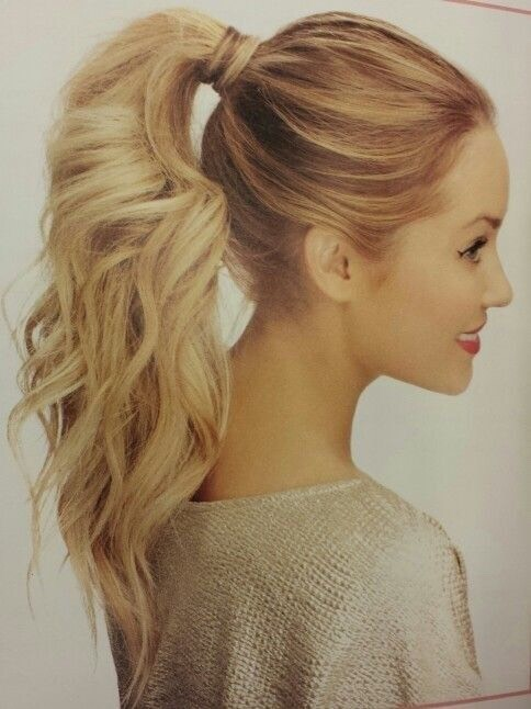 Stop sleeping with your hair up in a ponytail! I know, we all do it! However, it is proven that sleeping with your hair up can prevent hair from growing healthily and causes hair loss!  SO.... If you want to prevent hair loss and want to grow your hair healthier don't tie your hair up at night!