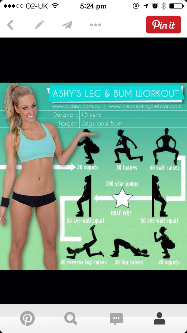 My Top Butt Workouts by Grace Mansell - Musely