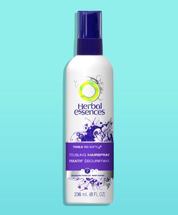 The Worst #1: Herbal Essences Tousle Me Softly Hairspray, $3.37