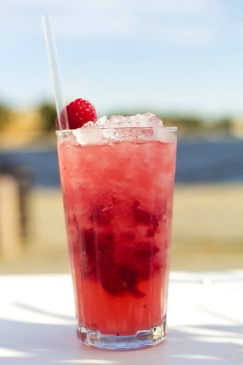 Make a 'Cool Mum' mocktail by blending •Cranberry juice •Lemonade •Strawberries Top with mint if you like