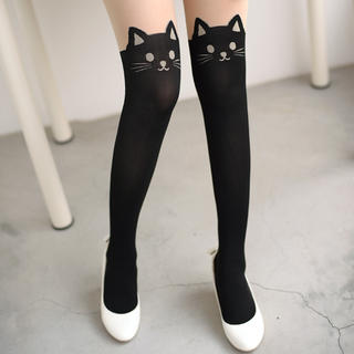 cute graphic tights