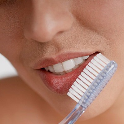Yes, it sounds weird. But by brushing your lips it will plump out your lips plus it will get rid of any dead skin