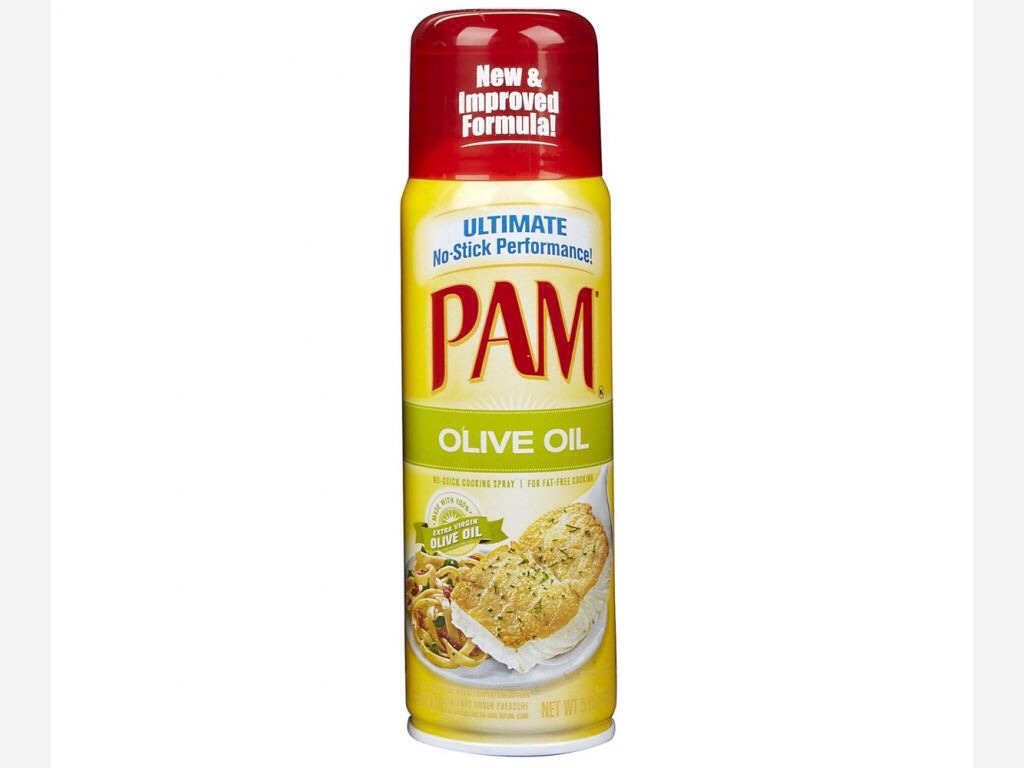 Instantly dry your nails with Pam!
