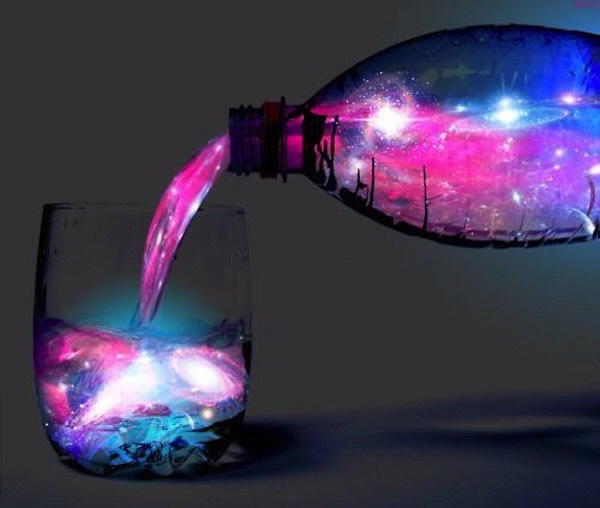 Make any drink glow in the dark with blacklight and adding a bit of spirit!