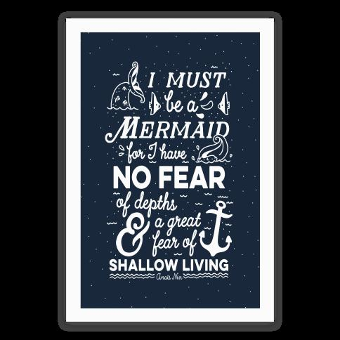 12. This encouragement to live as a mermaid: