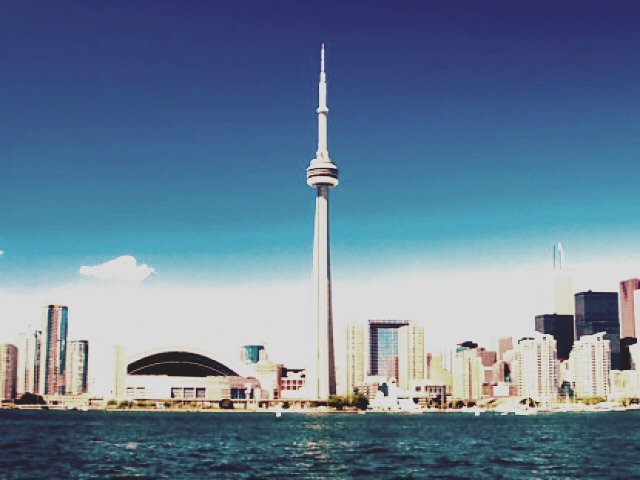 ~CN tower🚩 The highest tower in Canada. A beautiful view of Toronto city. Truly relaxing in my opinion.