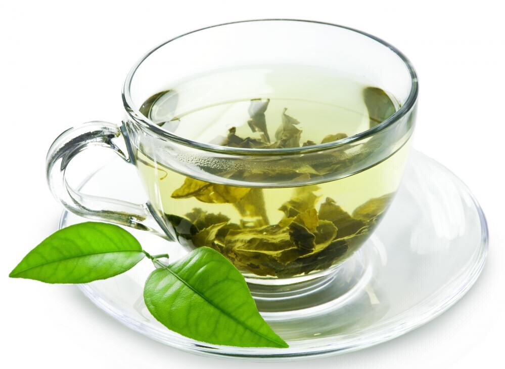 Green tea! It's an acquired taste, but very beneficial for your body in numerous ways. To ween yourself on, brew weak and add lemon juice. YUM! The value is has for your body is amazing, including blood flow, kidneys, weight loss, detox, anti bloating