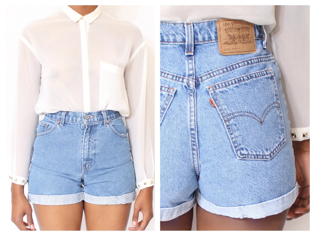High wasted shorts are a go go in the summer xx