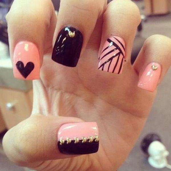 Here are a few cute ideas for your nails if you're ever stuck. Don't forget  to like, save and share💘💘💘 - Musely