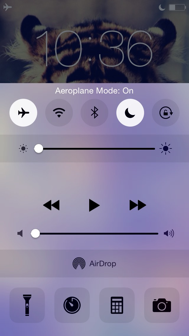to charge my iPod FASTER I turn my volume and brightness ALL the way down.