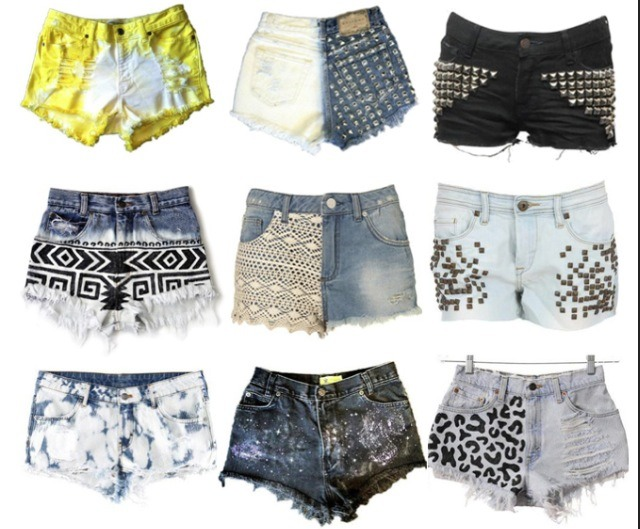 18 Cute Ways To Self Decorate Your Jean Shorts By Sad Flaka Musely