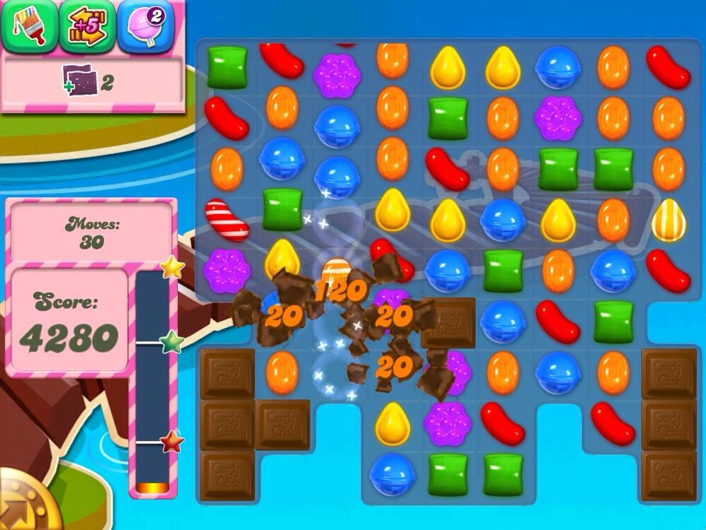 Tired of being on the same board of candy crush?  Need to break the habit?