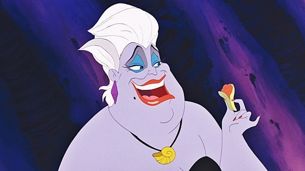 5. How does Ursula paint her nails under water?