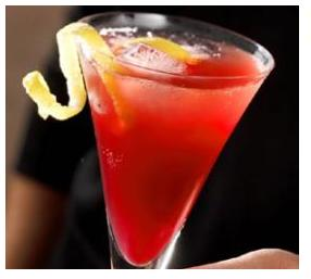 2. Pomegranate Champagne Punch!!!