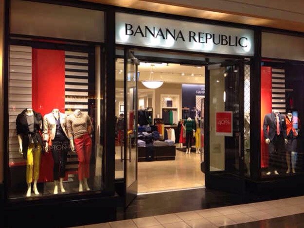 5. Banana Republic has the same deal.