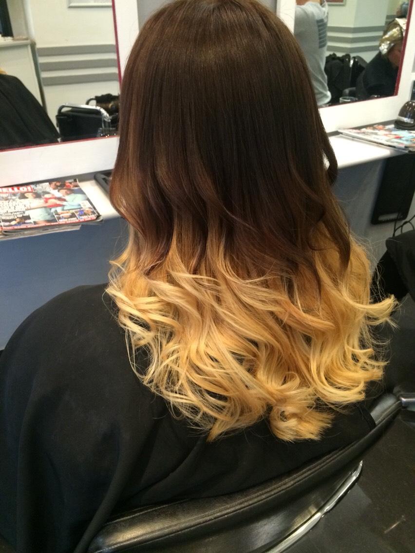 A colour I did at the salon 😚