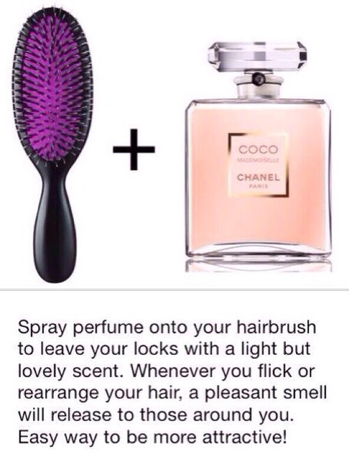 Guys love it when they hug you and get a little smell of your perfume of your hair 💁🏼
