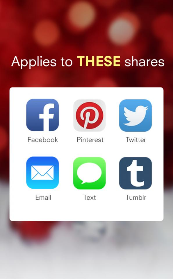 Got friends or followers on different apps? You can share you fav tips on all of these apps and earn rewards at the same time!