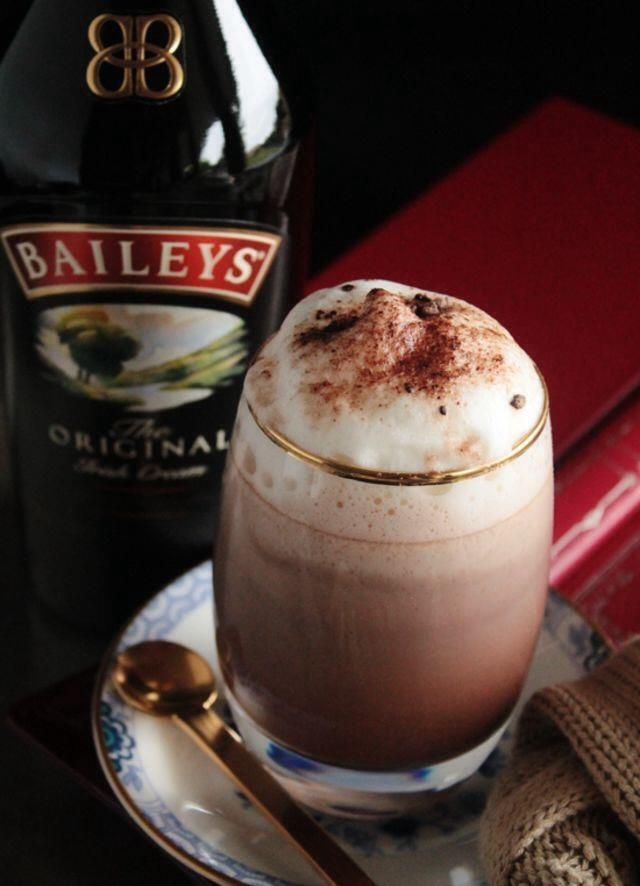 13. Bailey's Irish Cream Hot Chocolate