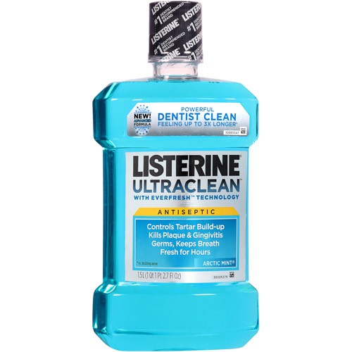 mix the toothpaste with the listerine its not gonna be a paste bust try to at least get the mouth was on it