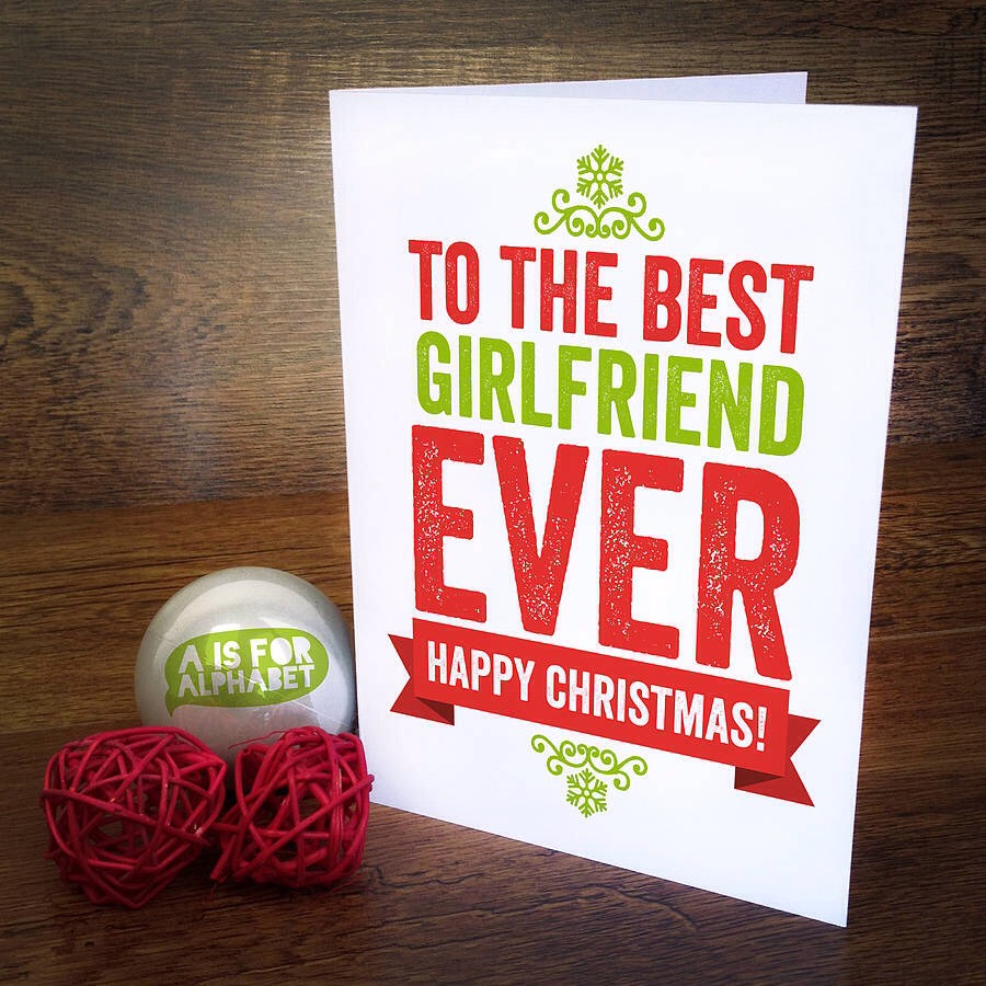 Make sure you get her a cute card! Write a cute little paragraph, make sure you tell her how much you love her and she won't stop smiling :)