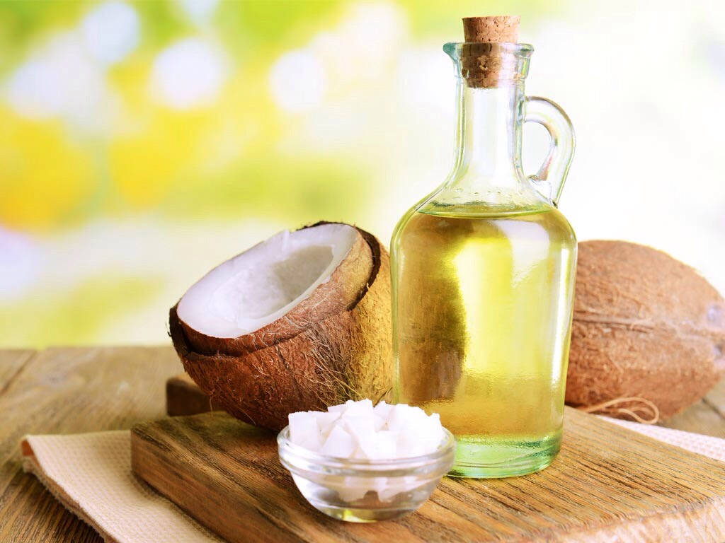 In the mixing bowl adds couple table spoons of coconut oil then melt in the microwave for 20 seconds and stir!