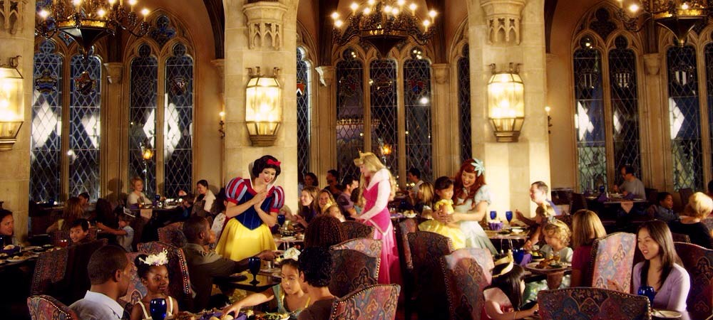 Advanced Dining Reservations (ADRs): Restaurant reservations; can be made up to 180 days in advance.  Character Dining: Meet Disney characters while you enjoy breakfast, lunch, or dinner at a theme park or resort.