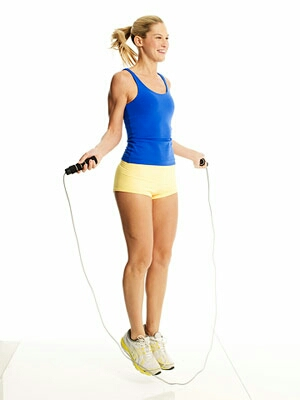 Do 2 mins of skipping ( rope optional )