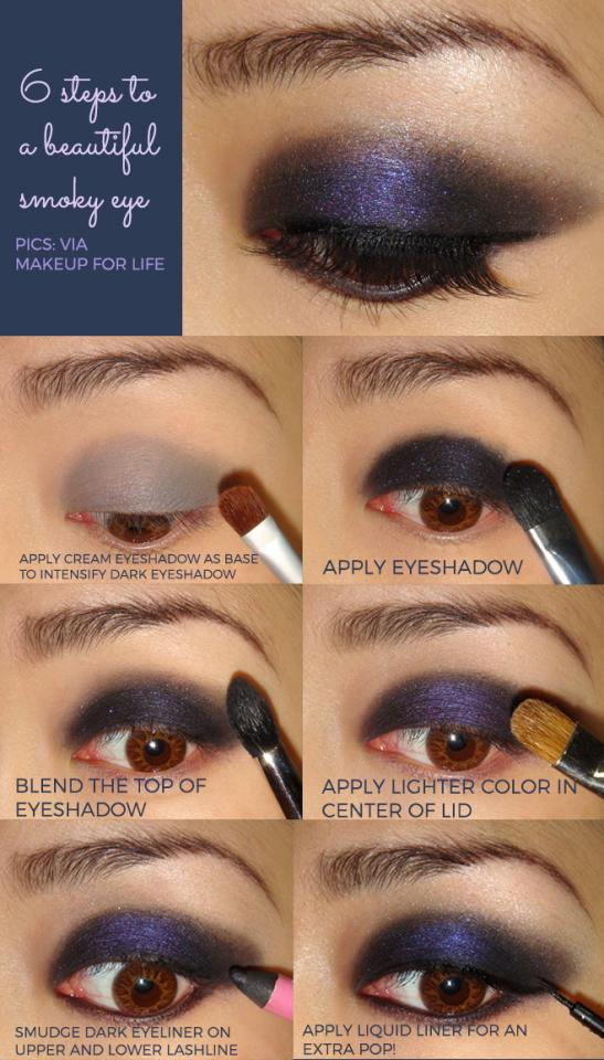 In case smoky eyes still have you baffled - here is a quick tutorial to follow!