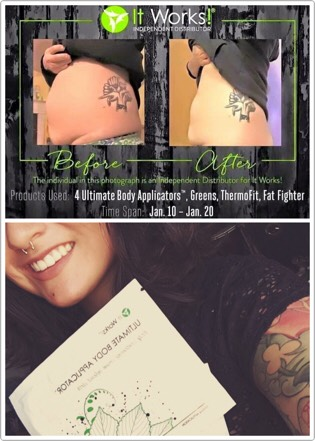 This botanically infused cloth uses an incredible formula to tighten tone and firm your area of choice in only 45 minutes! 😱 you'll also see progressive results over the next 72 hrs after your first wrap! 🙌🏼 25$ for 1️⃣