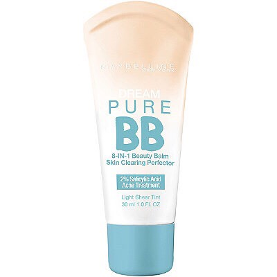 Maybelline'ss 8-1 BB cream is amazing, (in my opinion). It clears my acne, covers any pimples and dark spots, and it doesn't look like you're wearing tones of makeup. I would definitely recommend it.