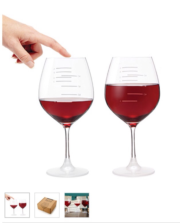 Bet she doesn't have these...musical wine glasses.