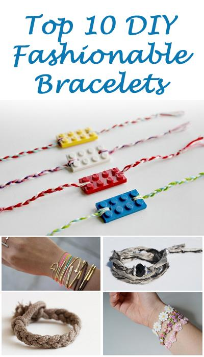 how to make for yourself a new bracelet. Prepare to be inspired by these fun ideas. http://bit.ly/1qZC2Sv