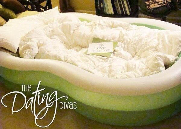 Fill a kiddie pool with pillows and blankets and just relax under the stars