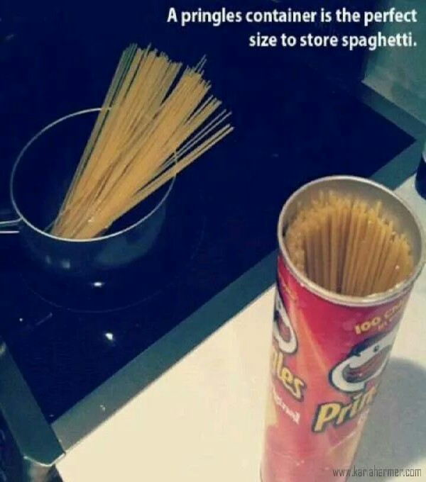 Perfect Size to Fit Your spaghetti Noodles