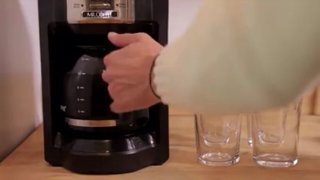 1) Brew a cup of your favourite coffee the night before you want a nice tasty cup of iced coffee