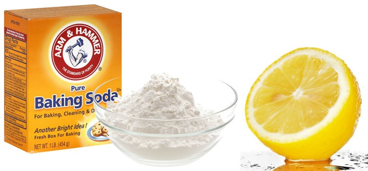 Baking soda and lemon are always super good for acne