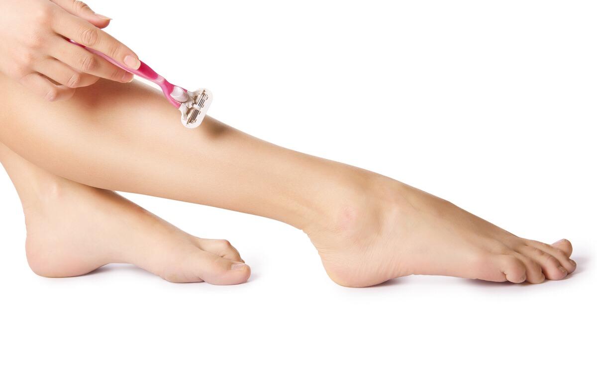 Побрила ноги картинки