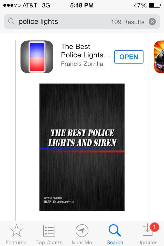 Download this free app, open and bam! Instant prank! It'll freak out whoever is behind the wheel thinking they're getting pulled over.  Works best if you're in the back seat and really dark and face your phone towards their rear view mirror.   Don't text and drive. And like if you save(=