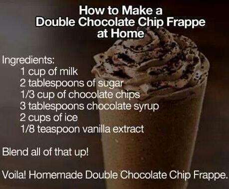 delicious frappe recipe! :)