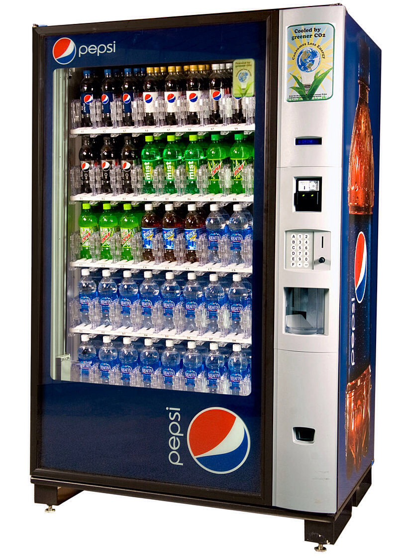 Find a vending machine and punch in the numbers 432112311. Immediately press the coin return and you will get money.