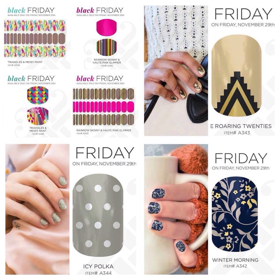 Only available Fri the 29th includes free shipping! Www.ashleyj.jamberrynails.net
