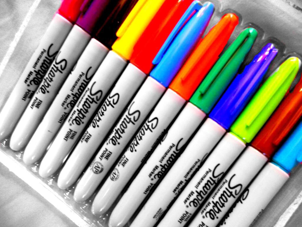 Get some sharpies