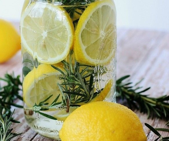 Bring to a boil 2-3 cups of water along with fresh fruit, fresh herbs, and extracts in a pot or slow cooker.