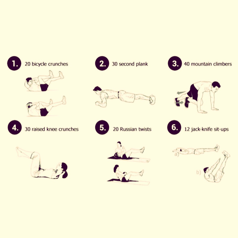 Wanna get your beach bod on? So this every night before bed